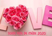 TEXTE FETE DE MÈRE 2020