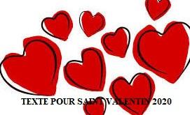 texte danniversaire 4 - TEXTE POUR SAINT VALENTIN 2020