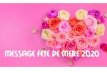 MESSAGE FETE DE MERE 2020