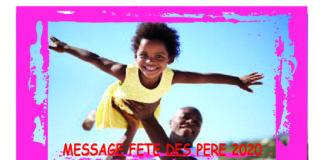 MESSAGE FETE DES PERE 2020
