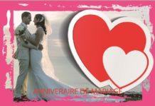 ANNIVERAIRE DE MARIAGE